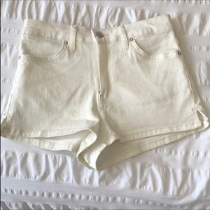 Free People white shorts. Worn once